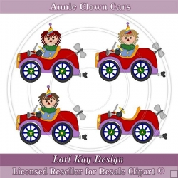 Annie Clown Cars