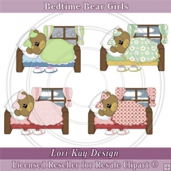 Bedtime Bear Girls