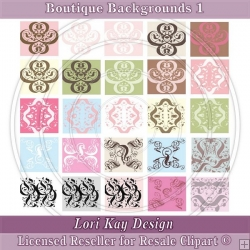 Boutique Backgrounds 1