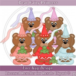 Bear Fairy Princess