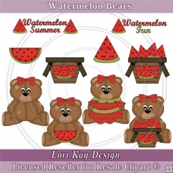 Watermelon Bears 1