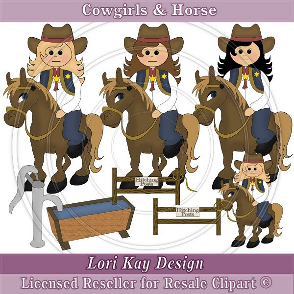 clip art quotes. Clipart Cowgirl. Traditional